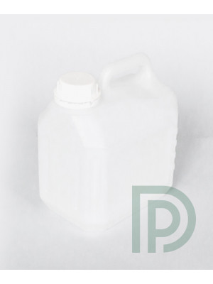 Каністра 3л пластикова HDPE для харчових та технічних рідин
