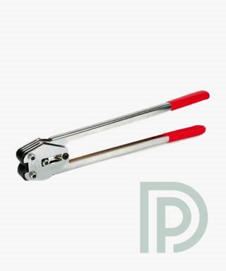 Клещи для зажима скобы для ПП/ПЭТ ленты 16 мм