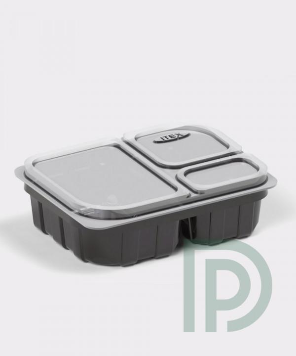 Блистерный контейнер IT-803C для соусов, имбиря, васаби