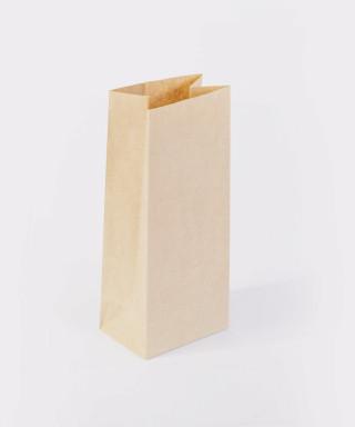 Крафтовый пакет бурый 90*65*200мм