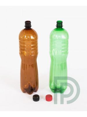Пластикова пляшка ПЕТ 1 літр