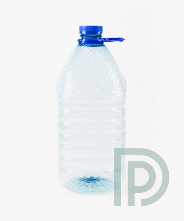 Пластиковая ПЭТ бутылка 5л для воды