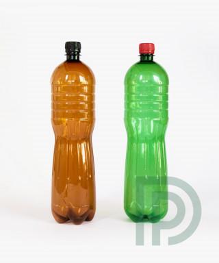 Пластиковая бутылка ПЭТ 1 литр