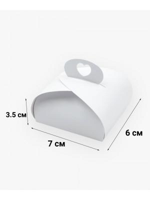 Бонбоньерка 70*60*35 мм белая