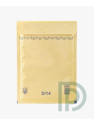 Конверт бандерольный D14, 180*265мм